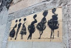 expressionist paste up Lisbon