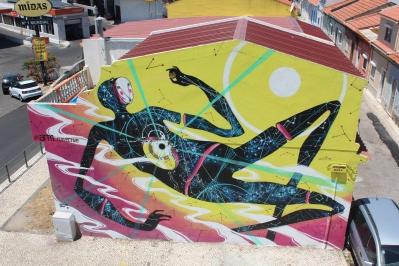 big wall mural